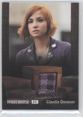 "2013 Rittenhouse Warehouse 13 Season 4: Episodes 1-10 Premium Packs - Costume #ASCD - Allison Scagliotti as Claudia Donovan (episode ""Beyond Our Control"") /350"