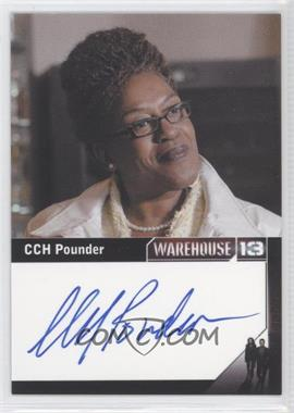 2013 Rittenhouse Warehouse 13 Season 4: Episodes 1-10 Premium Packs Autographs #CCPO - CCH Pounder as Mrs. Irene Frederic