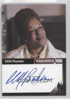 2013 Rittenhouse Warehouse 13 Season 4: Episodes 1-10 Premium Packs Autographs #CCPO - CCH Pounder as Mrs. Irene Frederic