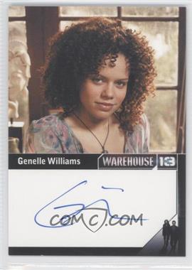 2013 Rittenhouse Warehouse 13 Season 4: Episodes 1-10 Premium Packs Autographs #GEWI - Genelle Williams as Leena