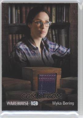 "2013 Rittenhouse Warehouse 13 Season 4: Episodes 1-10 Premium Packs Costume #JKMB - Joanne Kelly as Myka Bering (episode ""The New Guy"") /450"