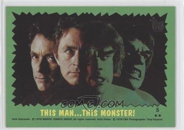 2013 Topps 75th Anniversary - [Base] #77 - The Incredible Hulk