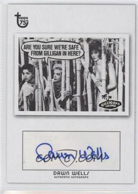 2013 Topps 75th Anniversary - Pop Culture Autographs #DAWE - Dawn Wells