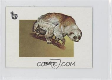2013 Topps 75th Anniversary Mini #4 - Animals of the World