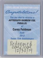 Corey Feldman /150 [REDEMPTION Being Redeemed]