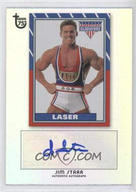 2013 Topps 75th Anniversary Pop Culture Autographs Rainbow Foil #JIST - Jim Star (Laser) /150