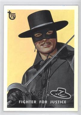 2013 Topps 75th Anniversary Rainbow Foil #18 - Zorro