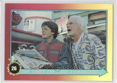 2013 Topps 75th Anniversary Rainbow Foil #90 - Back to the Future II