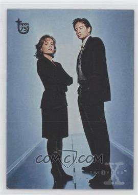 2013 Topps 75th Anniversary #100 - The X-Files