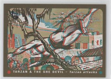 2013 Topps 75th Anniversary #4 - Tarzan & the She Devil
