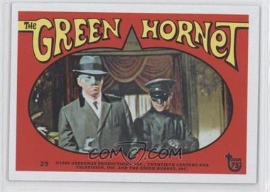 2013 Topps 75th Anniversary #40 - The Green Hornet Stickers