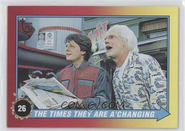 2013 Topps 75th Anniversary #90 - Back to the Future II