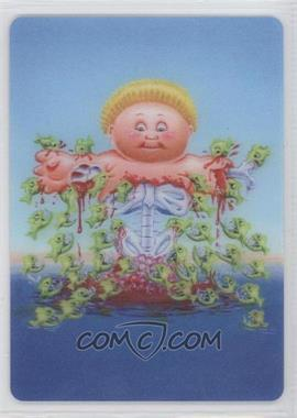 2013 Topps Garbage Pail Kids Brand-New Series 2 3D #7 - Piranha Finn