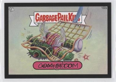 2013 Topps Garbage Pail Kids Brand-New Series 2 Black #102a - Buggy Betty