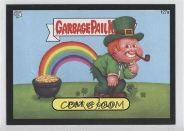 2013 Topps Garbage Pail Kids Brand-New Series 2 Black #127a - Pat Of Gold