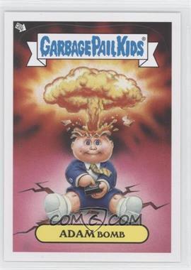 2013 Topps Garbage Pail Kids Brand-New Series 2 Glow in the Dark #1 - Adam Bomb