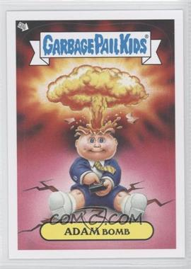 2013 Topps Garbage Pail Kids Brand-New Series 2 Glow in the Dark #1 - Adam Bomb