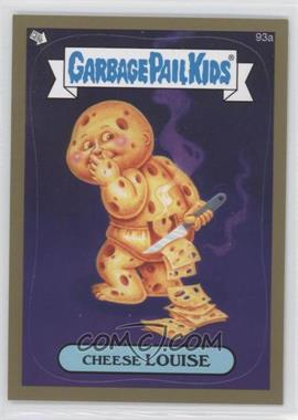 2013 Topps Garbage Pail Kids Brand-New Series 2 Gold #93 - Cheese Louise