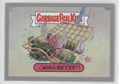2013 Topps Garbage Pail Kids Brand-New Series 2 Silver #102 - Buggy Betty