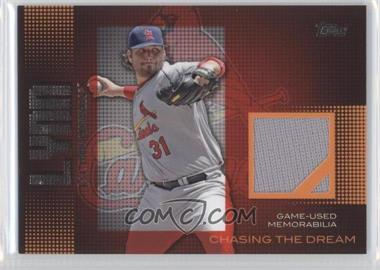 2013 Topps Garbage Pail Kids Brand-New Series 3 Chasing The Dream Relics #CDR-LL - Lance Lynn
