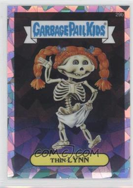 2013 Topps Garbage Pail Kids Chrome - [Base] - Atomic Refractor #29b - Thin Lynn