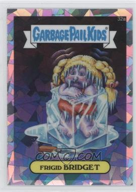2013 Topps Garbage Pail Kids Chrome - [Base] - Atomic Refractor #32a - Frigid Bridget