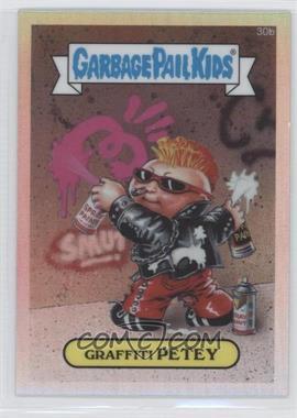 2013 Topps Garbage Pail Kids Chrome - [Base] - Refractor #30b - Graffiti Petey