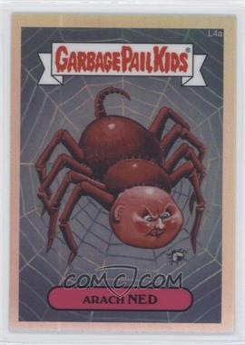 2013 Topps Garbage Pail Kids Chrome - [Base] - Refractor #L4a - Arach Ned