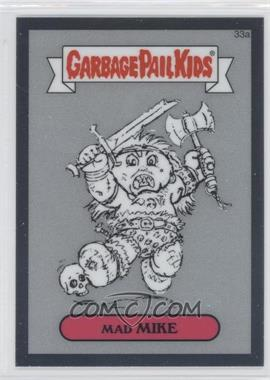 2013 Topps Garbage Pail Kids Chrome - Pencil Art Concept Sketches #33a - Mad Mike