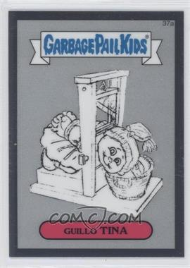2013 Topps Garbage Pail Kids Chrome - Pencil Art Concept Sketches #37a - Guillo Tina
