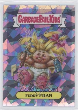 2013 Topps Garbage Pail Kids Chrome Atomic Refractor #12a - Furry Fran