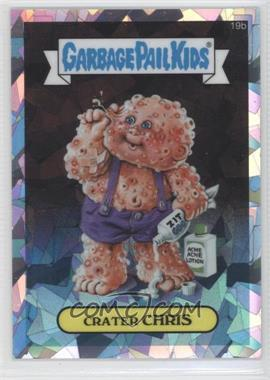 2013 Topps Garbage Pail Kids Chrome Atomic Refractor #19b - Crater Chris