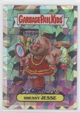 2013 Topps Garbage Pail Kids Chrome Atomic Refractor #20b - Dressy Jesse