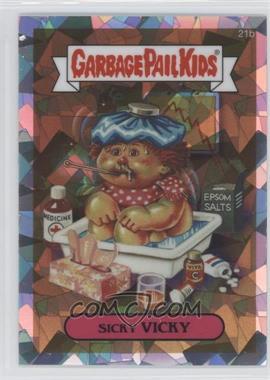 2013 Topps Garbage Pail Kids Chrome Atomic Refractor #21B - [Missing]