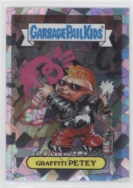 2013 Topps Garbage Pail Kids Chrome Atomic Refractor #30b - Graffiti Petey
