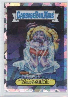 2013 Topps Garbage Pail Kids Chrome Atomic Refractor #32b - Chilly Millie
