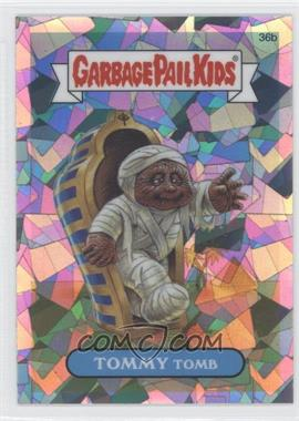 2013 Topps Garbage Pail Kids Chrome Atomic Refractor #36b - Tommy Tomb