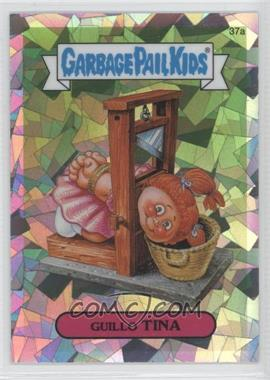 2013 Topps Garbage Pail Kids Chrome Atomic Refractor #37a - Guillo Tina