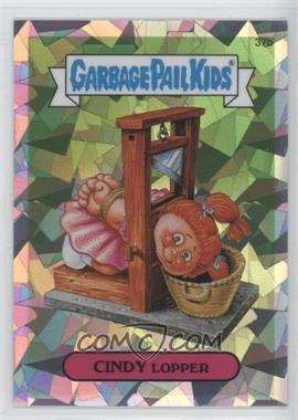 2013 Topps Garbage Pail Kids Chrome Atomic Refractor #37b - Cindy Lopper