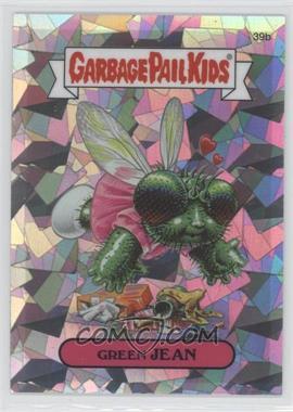 2013 Topps Garbage Pail Kids Chrome Atomic Refractor #39b - Green Jean