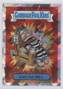 2013 Topps Garbage Pail Kids Chrome Atomic Refractor #4b - Electric Bill