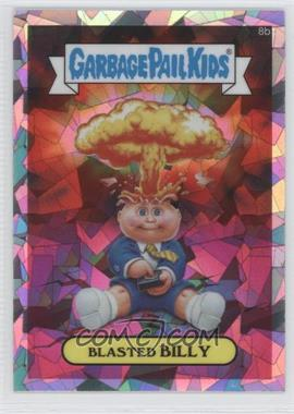 2013 Topps Garbage Pail Kids Chrome Atomic Refractor #8b - Blasted Billy (Checklist)