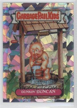 2013 Topps Garbage Pail Kids Chrome Atomic Refractor #L14a - Dunkin Duncan