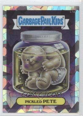 2013 Topps Garbage Pail Kids Chrome Atomic Refractor #L1a - Pickled Pete