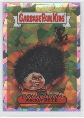 2013 Topps Garbage Pail Kids Chrome Atomic Refractor #L3a - Prickly Pete