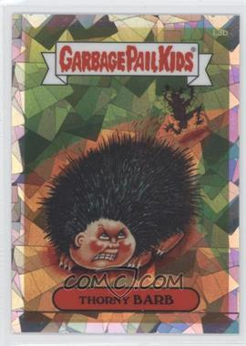 2013 Topps Garbage Pail Kids Chrome Atomic Refractor #L3b - Thorny Barb