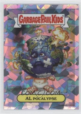 2013 Topps Garbage Pail Kids Chrome Atomic Refractor #L6b - Al Pocalypse