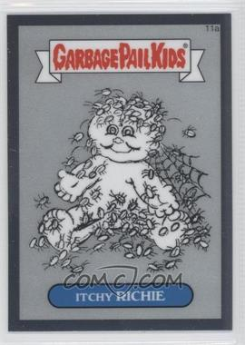 2013 Topps Garbage Pail Kids Chrome Pencil Art Concept Sketches #11a - Itchy Richie
