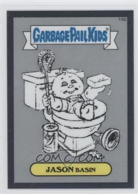 2013 Topps Garbage Pail Kids Chrome Pencil Art Concept Sketches #14b - Jason Basin
