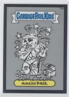 2013 Topps Garbage Pail Kids Chrome Pencil Art Concept Sketches #15b - [Missing]